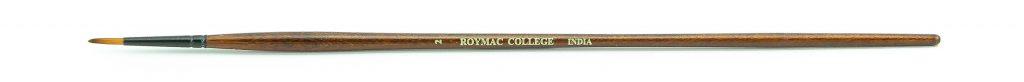 "Roymac ""College"" Size 2 long handled Taklon bristle Round artists' Acrylic painting brush"
