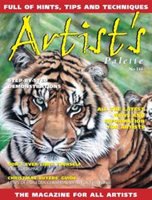 Artists Palette Magazine issue 144 - Michael Hodgkins insight article