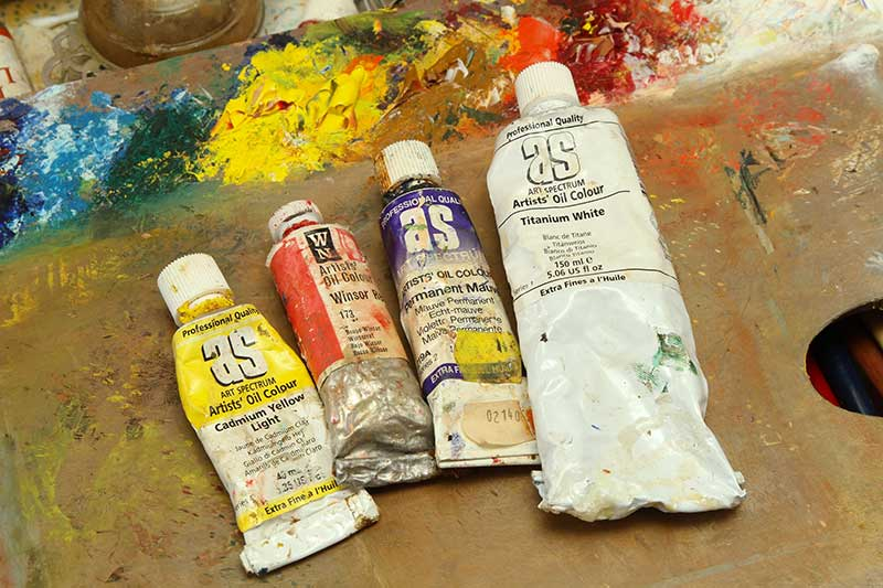 Oil Paint - Limited Palette