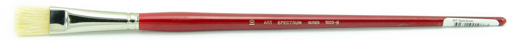 Art Spectrum Series 1000 Size 10 Hog Bristle Bright Artists' Oil Painting Brush