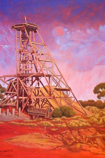Grants Patch - Australian Landscape Oil Painting by Michael Hodgkins