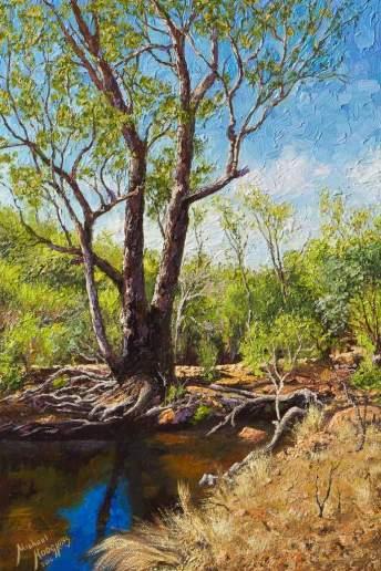 Helena River - Australian Landscape Oil Painting by Michael Hodgkins