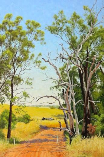 The Start of Summer - Australian Landscape Oil Painting by Michael Hodgkins