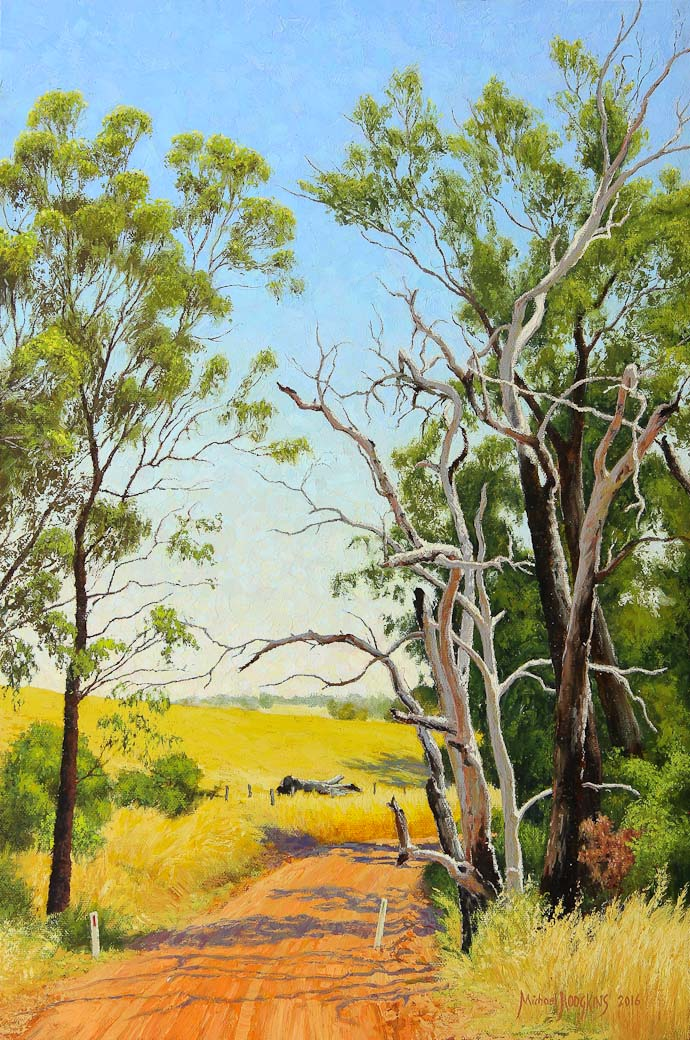 The Start of Summer - Australian Landscape Oil Painting by Michael Hodgkins